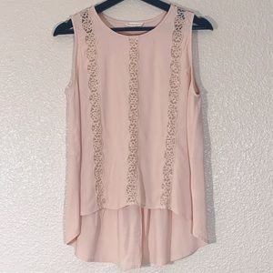 Sophie Rue Sleeveless Top Size Large